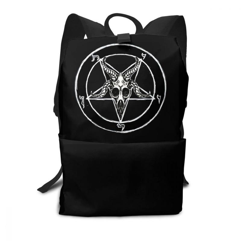 Pentagram Backpack Pentagram Backpacks Pattern Shopping Bag Trend High Quality Multi Purpose Men - Women Bags