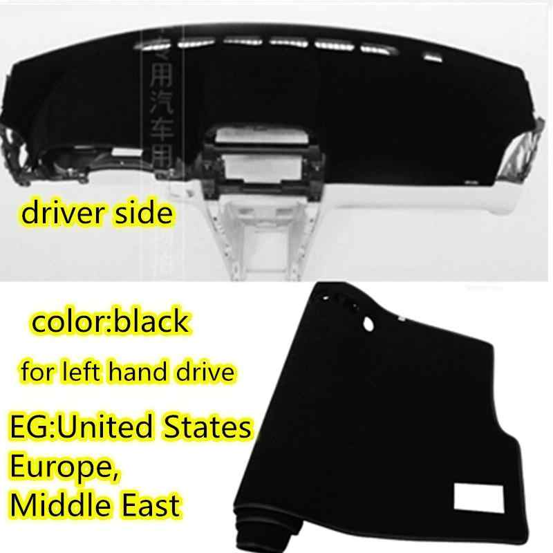 Subaru Forester SH 2008 2009 2010 2011 2012 için Dashmat araba şekillendirici aksesuarları Dashboard kapak araba Dash Mat güneş gölge halı