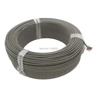 FTARE01 100m/1 roll S R K type thermocouple extension wire compensation wire cable for S/R K type thermocouple