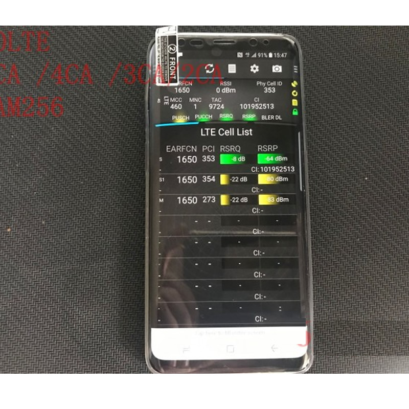 Free Shipping +S9 G9600 Tems Pocket Handset+support Volte & 4CA + QAM256 + 4X4 MIMO