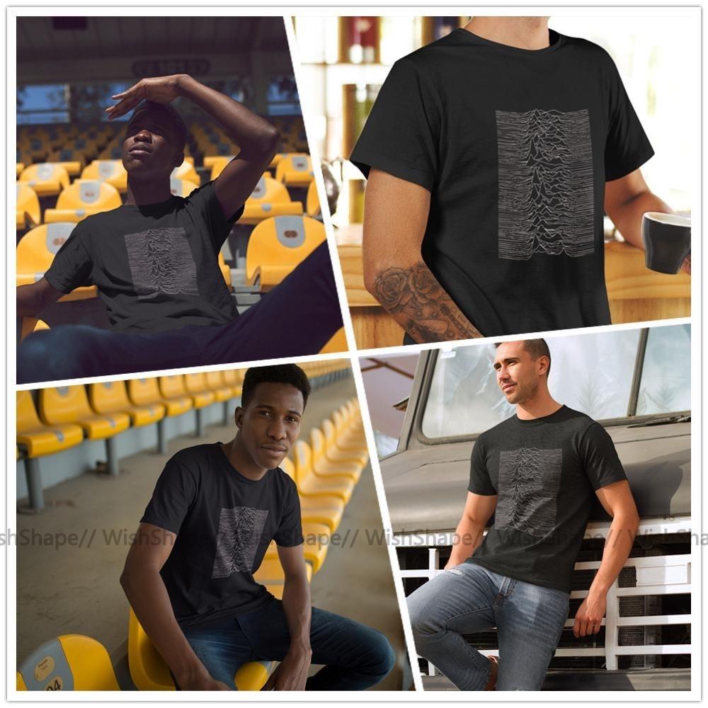 Image 2 - Joy Division T Shirt Unknown Pleasures   Joy Division Music Tee Shirt Summer Men T Shirts Fashion Graphic T Shirt Funny TshirtT-Shirts   -