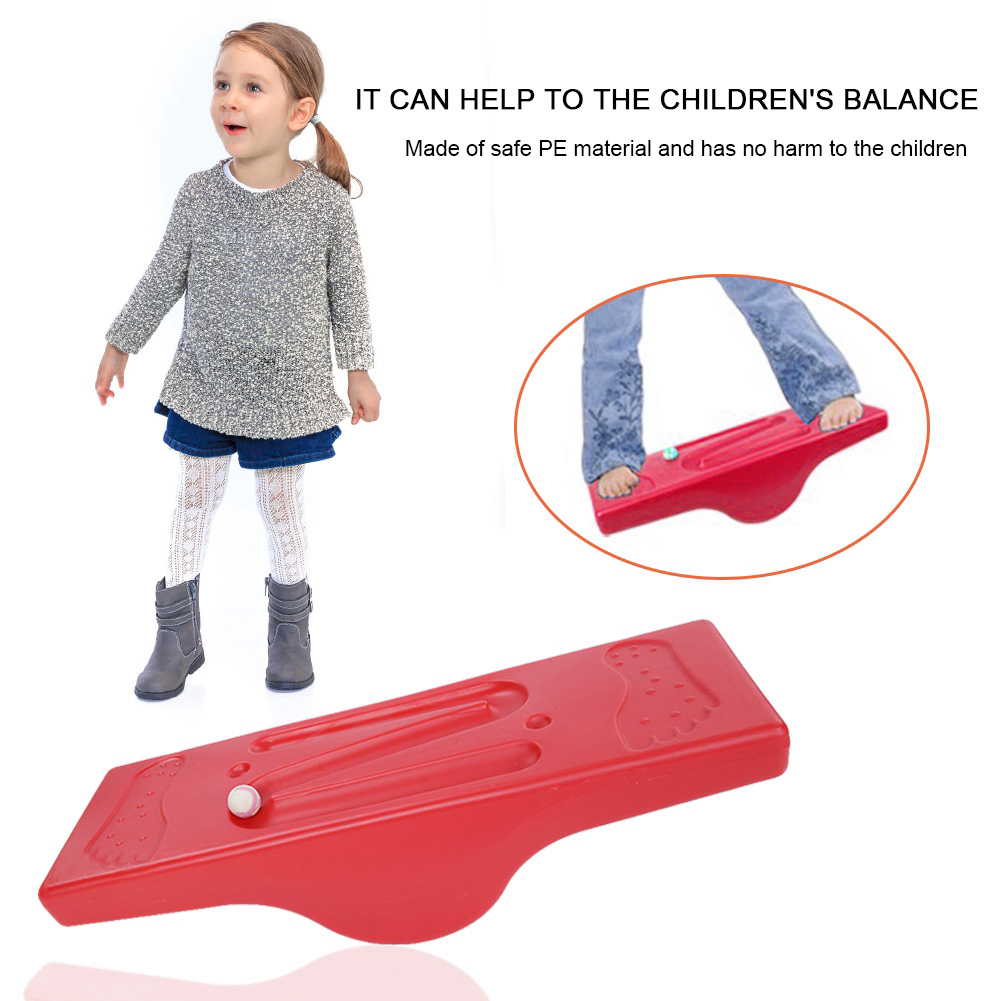 Balance Board Kids Sensory Integration Training Kids Childhood Toys Rocking Seesaw Fitness Board Indoor Outdoor Activity Game