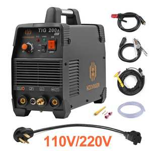 New 110V 220V Tig Welder 200A Arc TIG MMA 2 IN 1 Argon Tig Control Welding Machine Stainless