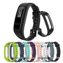 Voor Huawei Band 3E & 4E Polsband Voor Honor Band 4 Running Versie Smart Polsbandjes Horloge Accessoires Zachte Siliconen armband