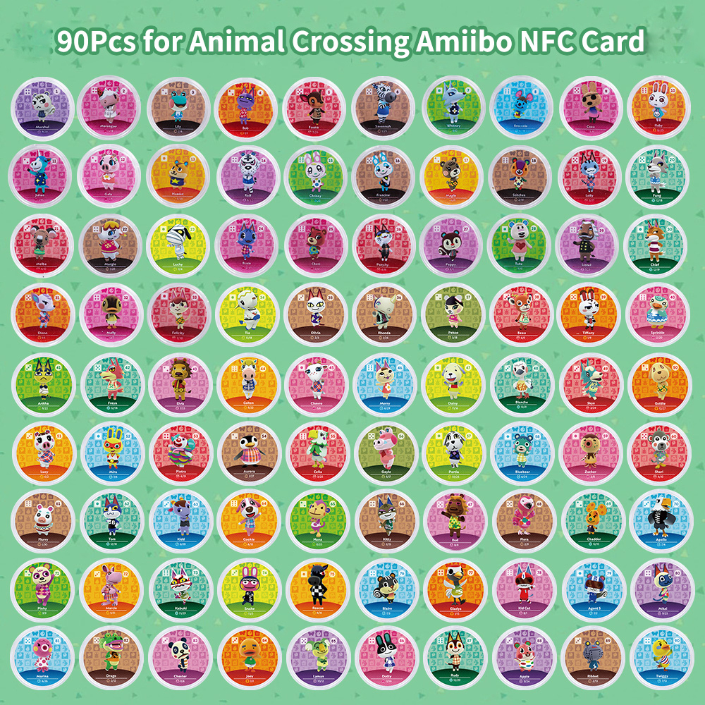 NFC Card for Nintendo Switch 3DS Animal Crossing Amiibo Card Animal Crossing New Horizons amiibo series Figuras image