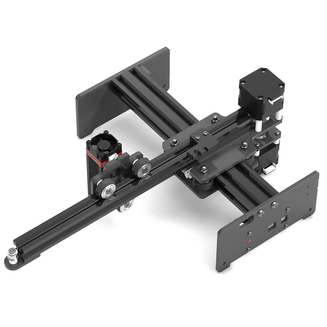 KKMOON נייד 7W 20W DIY חריטת גילוף מכונת שולחן העבודה לייזר חרט מדפסת מיני קארבר עבור מתכת עץ חריטה