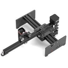 KKMOON Portable 7W 20W DIY Engraving Carving Machine Desktop Laser Engraver Printer Mini Carver for Metal Wood Engraving