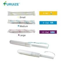 6pcs Organic Tampon Menstrual Pad swab tampon similar with Cup Vaginal tampons Sanitary napkin organic cotton Tampons