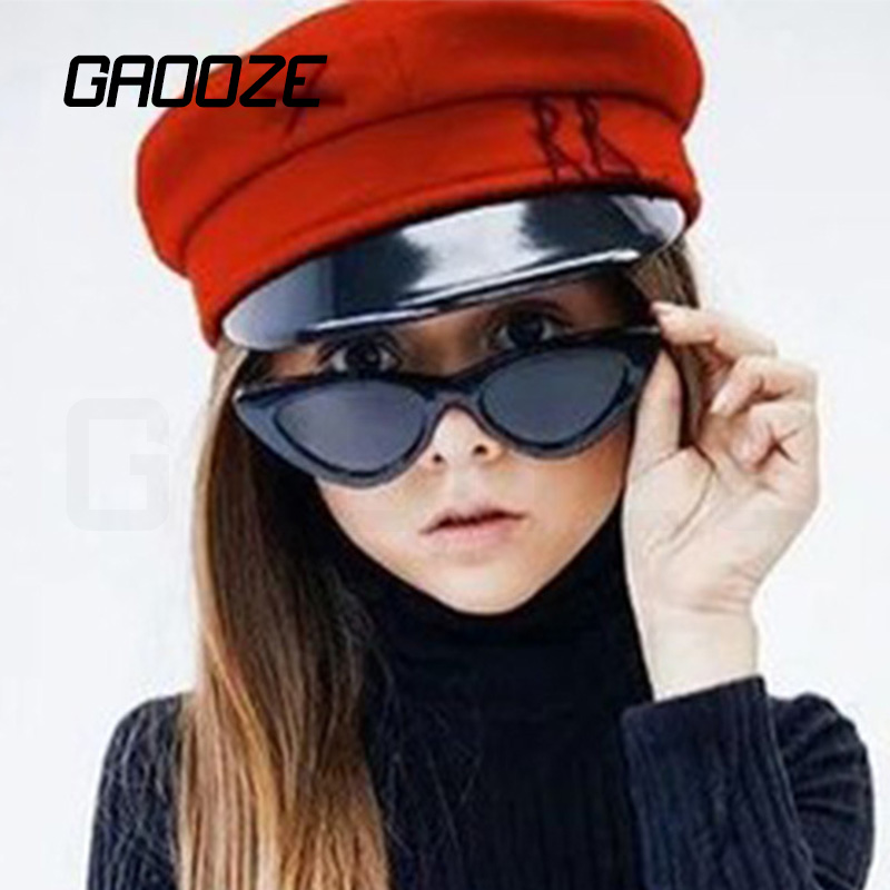Children Sunglasses Girls Sun-Protection Fashion-Brand GAOOZE LXD270 Retro Baby Anti-Glare