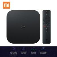 Xiaomi Mi Box S Smart TV with 4K HDR Android 8.1 TV Streaming Media Player Cortex A53 Quad Core 64 bit 2GB RAM 8GB ROM HDMI2.0