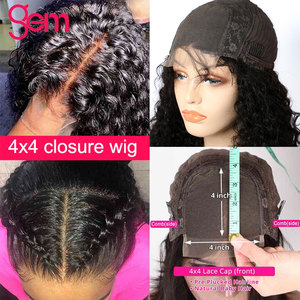 Image 5 - Peluca de ondas al agua con encaje Frontal, pelucas de cabello humano malayo, Remy, peluca de onda de encaje Frontal de agua de 30 pulgadas, 4x4, pelucas con cierre de encaje
