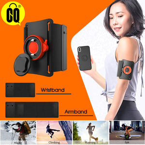 Image 1 - Universal Phone carrying Cases for hand Sport Armband phone holder Cover for Running Arm Band base for iPhone/for Huawei handbag
