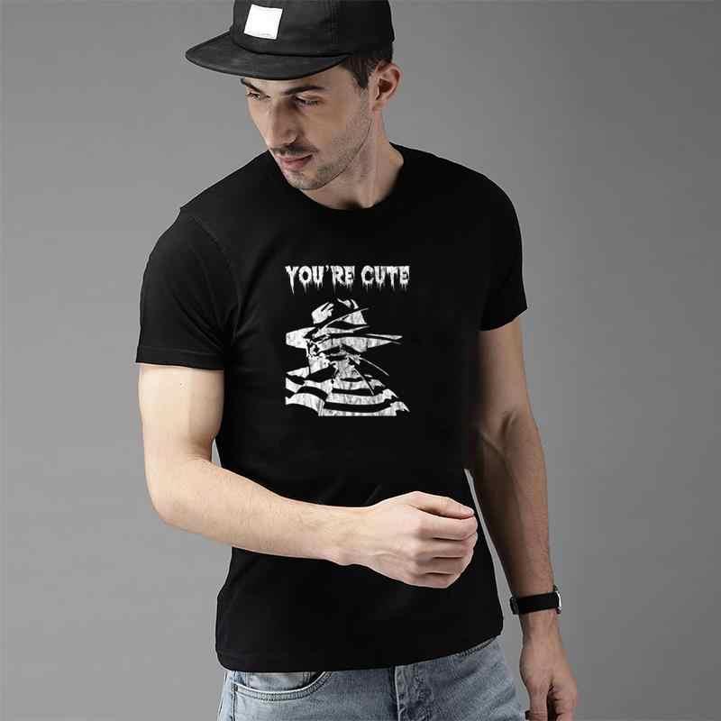 Moda engraçado freddy krueger sexta-feira o 13th filme de terror t camisa s-73xl casual streetwear carta homme t-shirts
