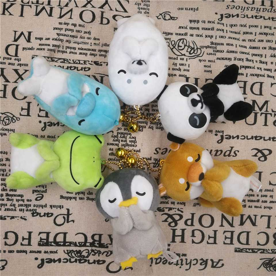 Plush Stuffed Animals Panda Soft Kids Frog Stuffed Akita Penguin Dog Peluche Toy Plush Animals Stuffed Dolls Keychain Kids Toys