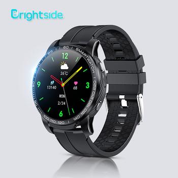 Brightside F7 2021 nowy inteligentny zegarek mężczyźni Bluetooth 5 0 sport pulsometr wybierania połączeń okrągły Smartwatch człowiek dla androida i IOS tanie i dobre opinie CN (pochodzenie) Z systemem Android Wear Dla systemu iOS Na nadgarstek Zgodna ze wszystkimi 128 MB Krokomierz Rejestrator aktywności fizycznej
