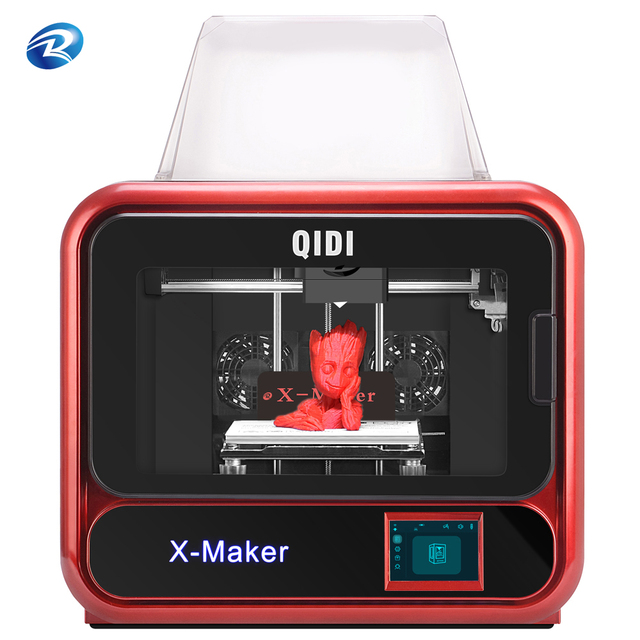 QIDI TECH 3D STAMPANTE X  maker riscaldata letto estraibile wifi Con ABS E PLA TPU 170 millimetri * 150mm * 160 millimetri di stampa facesheil