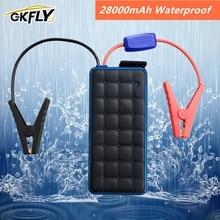 GKFLY dispositif de démarrage Portable étanche Portable, 28000mAh, chargeur de voiture essence, 8 l et Diesel, batterie externe l, 12V, 1000a