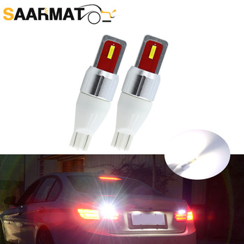 2pcs T15 led 921 W16W Car Backup Reverse Bulb Lights for BMW E46 E39 E90 E60 E36 F30 F10 E30 E34 X5 E53 M M3 M4 Z4 Z3 image