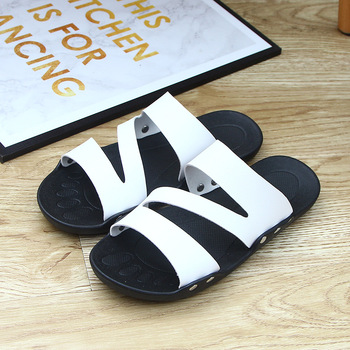 Summer Men Slides Slide Slippers Home Indoor Shoes House Beach Outside Slipers Slipper Sleepers Soft Hot Sale Big US Size 7.5-11