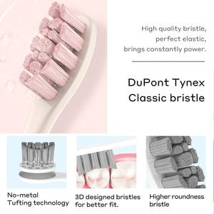 Image 5 - חדש Oclean Z1 סוניק חשמלי מברשת שיניים IPX7 עמיד למים קולי אוטומטי מהיר טעינת סוניק מברשת השיניים CZ מחסן