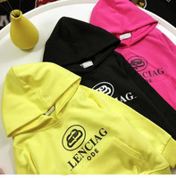 Children's Autumn Casual Hoodie kids Three color letter print sweater In stock sales