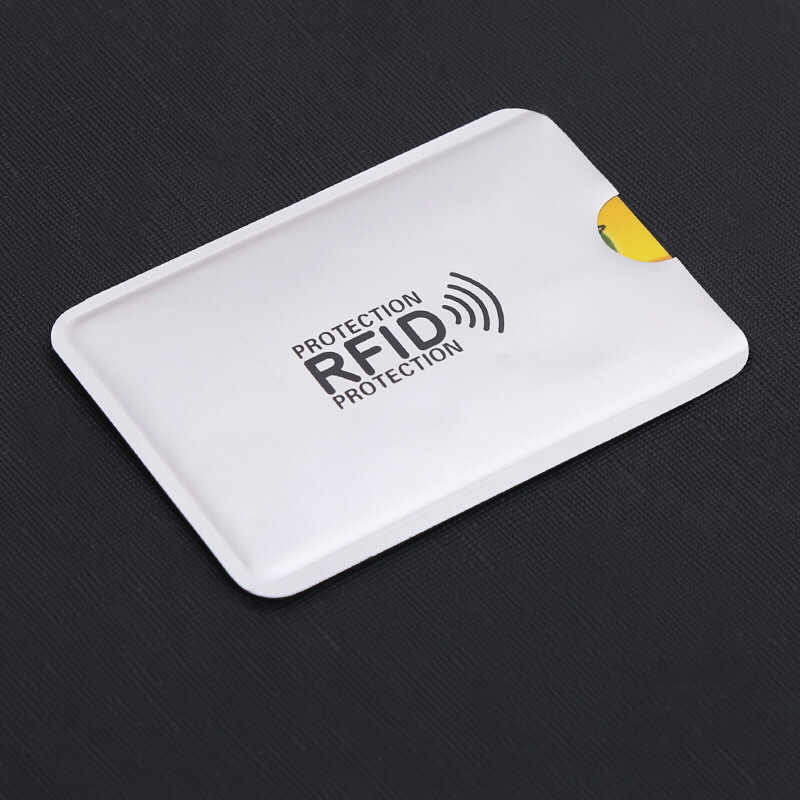 10pcs/set RFID Shielded Card Blocking 13.56mhz IC card Protection NFC security card prevent unauthorized scanning
