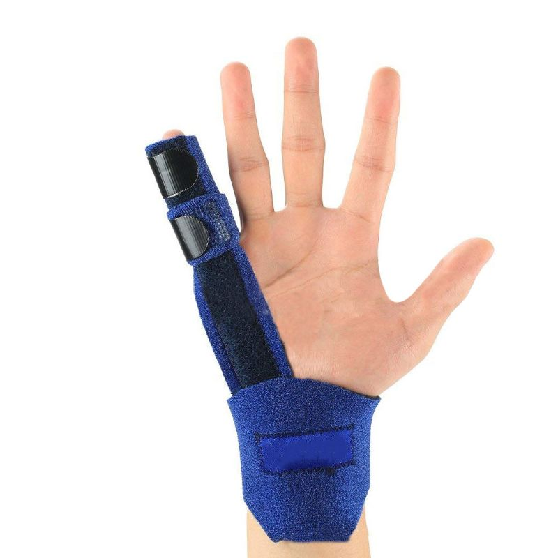 Finger Support Portable Fixing Sleeve For Fingers Correction Fracture Sprain M89F