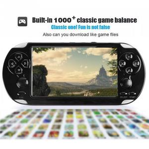 """Image 5 - Handheld Game Console 4.2"""" 5"""" LCD X6 X9 plus Double rocker 8G Retro  Video MP5 TF Card for GBA/ 1000 Games"""