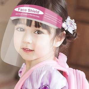 Guard Isolation-Visor Clear Kids Anti-Splash Dust-Proof-Protective Safety Children Full-Double-Sided