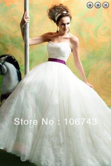 Free Shipping 2015 Vestido De Noiva Debutante Dress Bridal Gown Brides Ball Gown Appliques Sweetheart White Lace Wedding Dresses