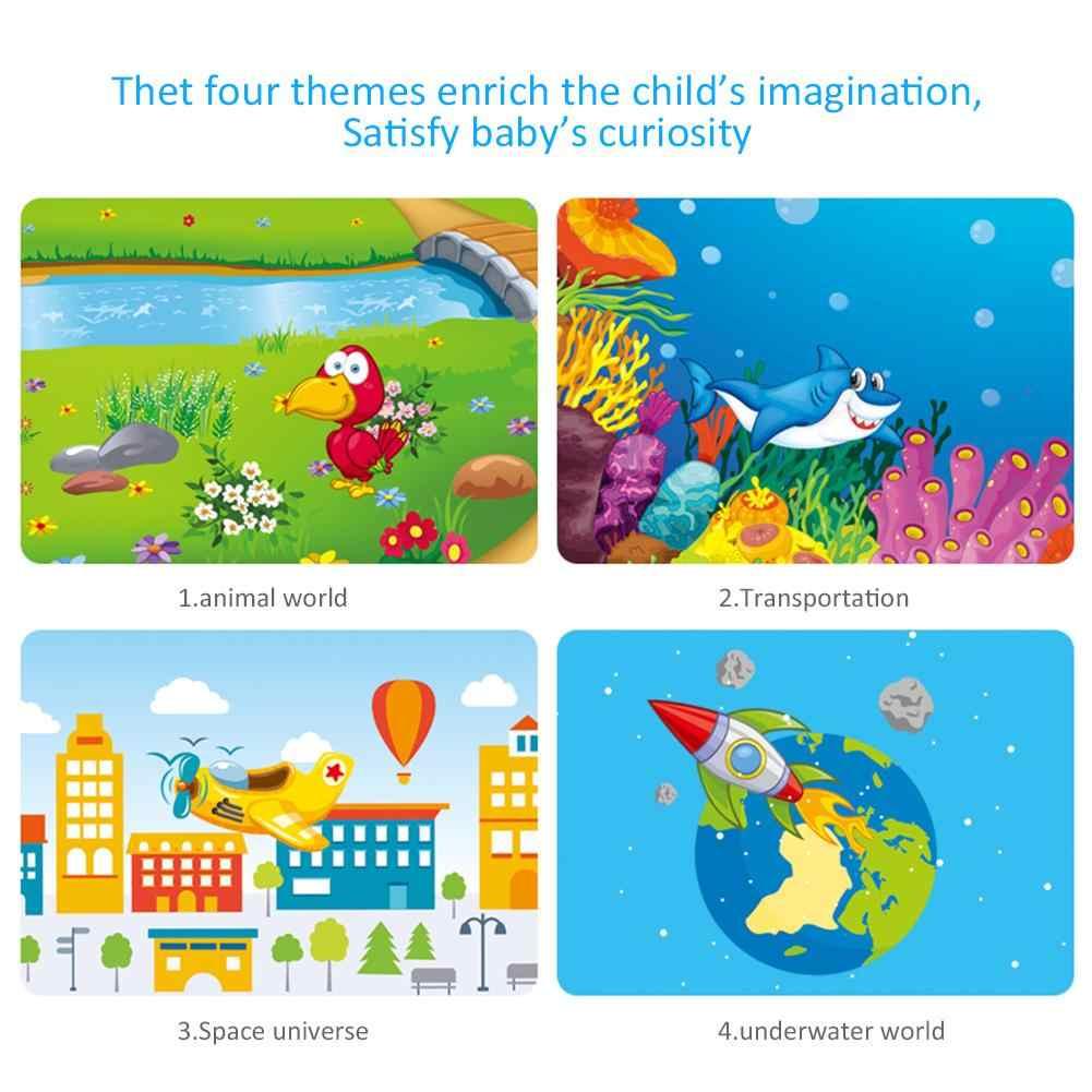 תינוק סיפור שנת פנס מנורת הקרנת צעצוע ילדי של סיפור אור צעצוע ילדי חינוך מוקד מתכווננת אורך