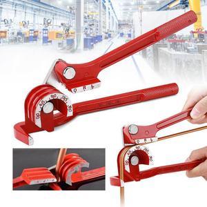 3 in 1 Tubing Pipe Bender 1/4in 5/16in 3/8in Tube Aluminum Copper Steel Fuel Brake Lines