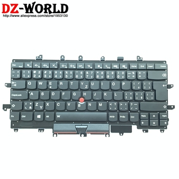 New CZ Czech Backlit Keyboard for Lenovo Thinkpad X1 Carbon 4th Gen 4 MT: 20FB 20FC Backlight Teclado SN20K74754 00PA706