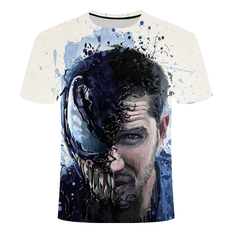 "Новинка, Мужская Футболка Venom, футболка ""Марвел"", 3D принт, футболка s, мужская, женская, Повседневная футболка, футболка для фитнеса, футболки, топы - Цвет: TX-163"