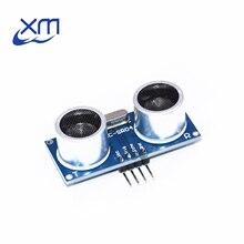Frete grátis 50 pçs módulo ultra sônico HC SR04 distância de medição transdutor sensor amostras melhores preços