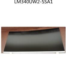 Original LM340UW2-SSA1 LCD Display 34 zoll Gebogene Bildschirm IPS LCD LED TV Display Screen Panels