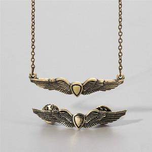 Брошь Элли «Последняя из нас 2», золотые крылья, значок, броши для фанатов, косплей, ювелирные изделия, оптовая продажа, подарок