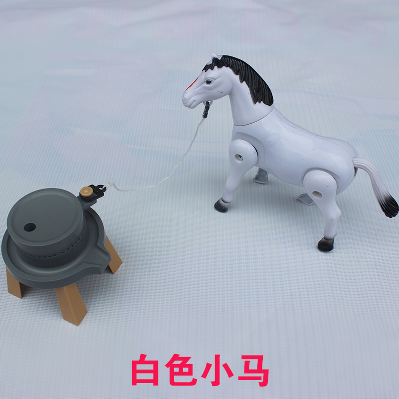 Special Offer Pull Grinding Electric My Little Stall Toy Rotating Slalom Horse Yiwu Popular Toy