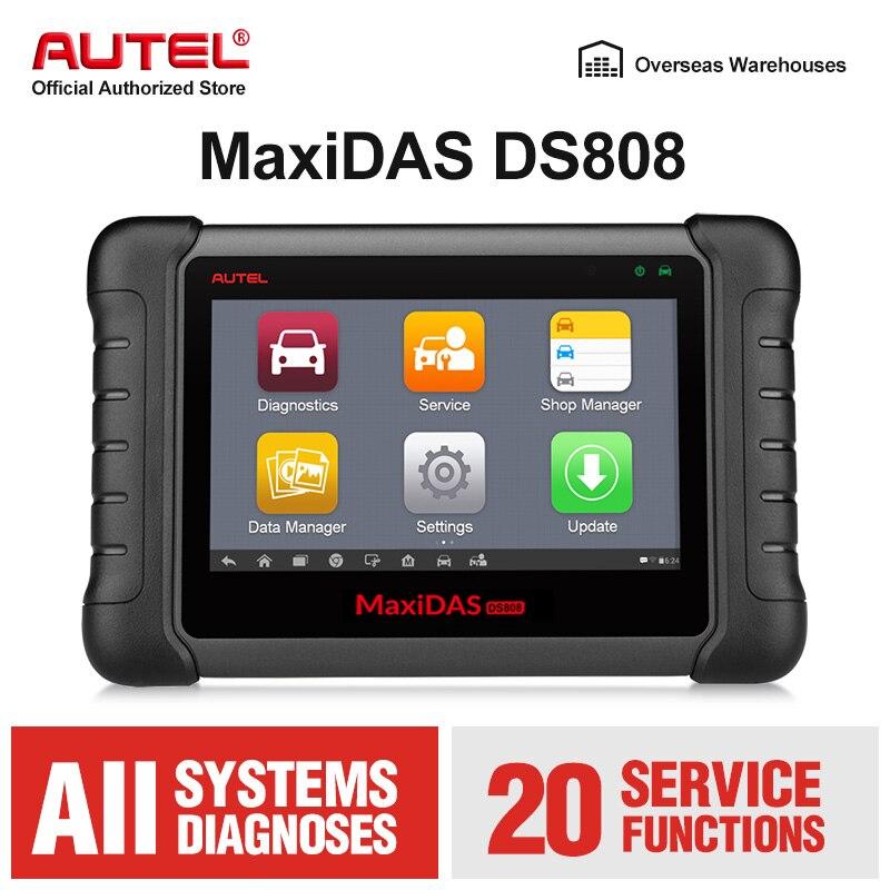 Key Fob Programming Near Me >> Us 743 12 18 Off Autel Maxidas Ds808 Obd2 Scanner Diagnostic Tool Key Fob Programming Tool Ecu Code Automotive Code Reader Same As Ms906 Pk Ds708 In