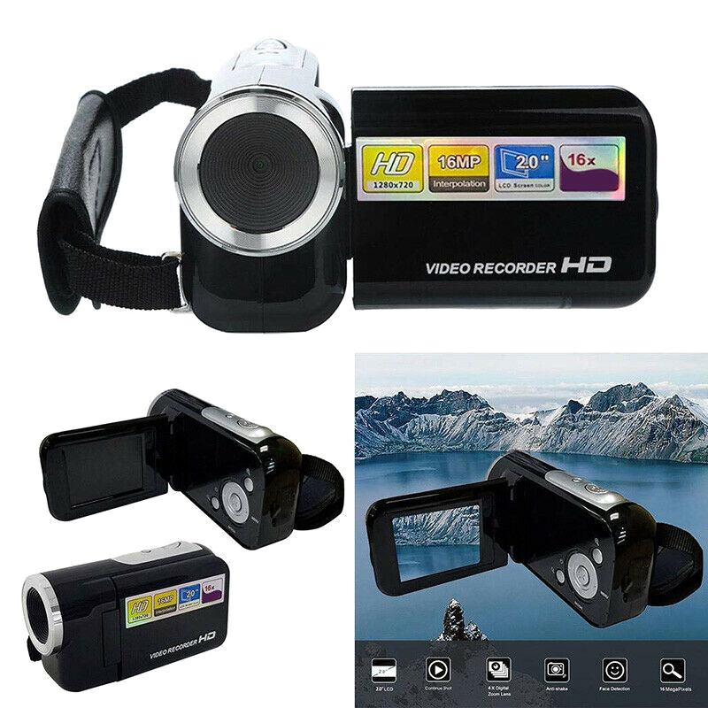 Kids Camera 2 Inch Screen Video Recorder 16 Megapixels Camcorder For Outdoor Home BM88