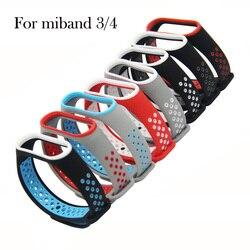 For Mi Band 4 3 Strap Wrist Strap For Xiaomi Mi Band 3 4 Bracelet Silicone Miband 3 4 NFC Accessories Smart Mi band4 Correa