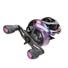 TSURINOYA Baitcasting Reel SPIRIT FOX-150 Weight 189g Drag 6kg Ultralight Long Casting Fishing Lure Reel Universal Bass Wheel(China)