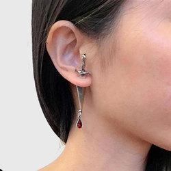 Blood Sworn Dagger Stud Earrings Fashionable Durable for Women Girls Earrings XR-Hot