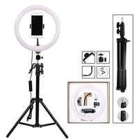 12 Dimmable fotografía iluminación LED Selfie anillo luz 30cm anillo lámpara con soporte trípode para Youtube maquillaje Video Live Studio