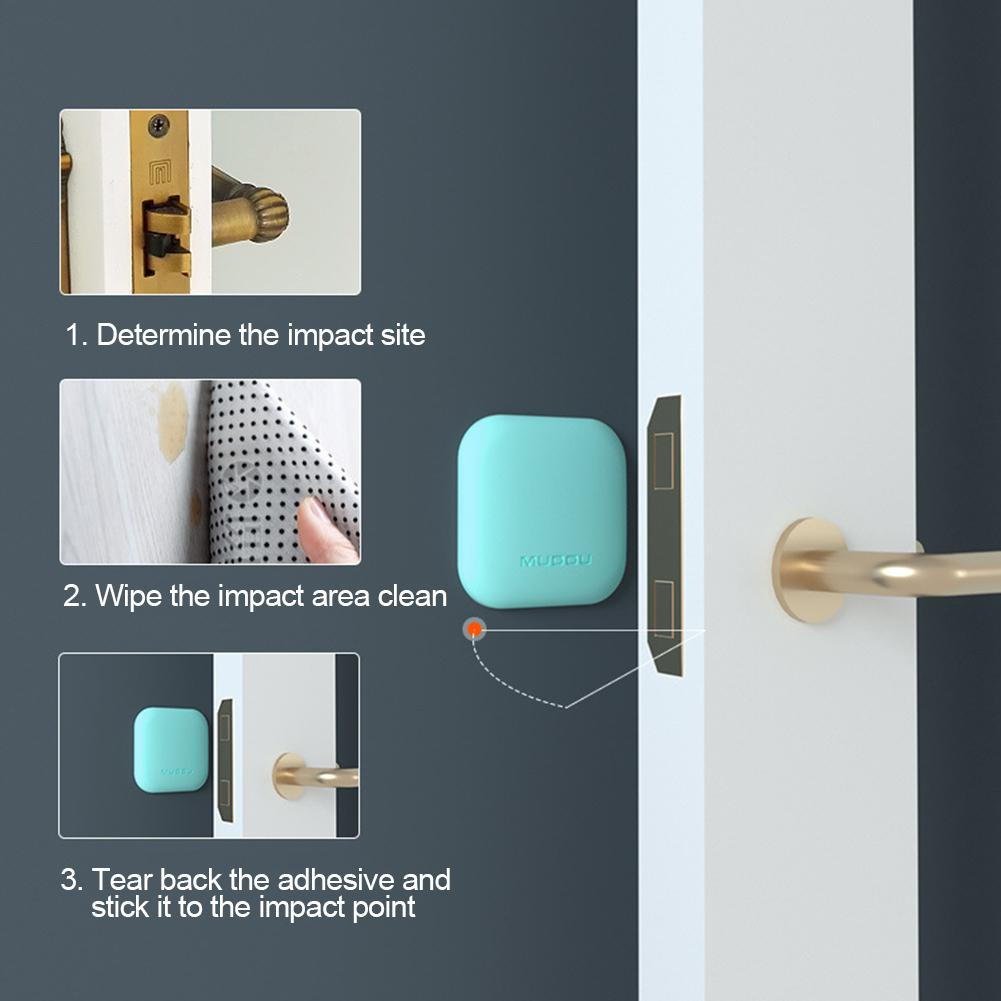 Fortune Anti Collision Pad Mute Stickers Wall Door Back Lock Protectors Anti-noise Embellished Home Suitable All Kinds Objects