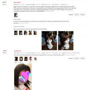Image 2 - Sophies Straight Wigs Remy Brazilian Human Hair For Women 100% Human Hair Machine Made No Smell 10 Inch,1B ,#4,99J