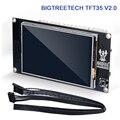 Bigtreetech tft35 v2.0 painel da tela de toque 3.5 polegada controle inteligente para reprap mks gen l v1.4 skr v1.3 ramps1.6 3d peças da impressora