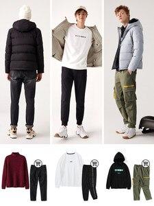 Image 4 - SEMIR зимняя куртка мужская 2020 Новинка, теплый пуховик 80% пуховик на утином пуху куртки свободного покроя из водонепроницаемого материала с капюшоном плотная верхняя одежда, пальто для мужчин