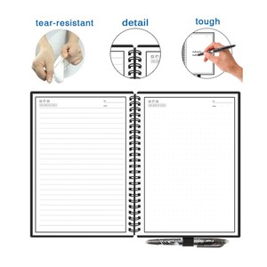 Image 4 - Smart Reusable Erasable Notebook Paper Erase Notepad Note Pad Lined With Pen Pocketbook Diary Journal Office School Drawing Gift