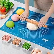 Толстые силиконовые коврики для выпечки 50*40 см большие инструменты